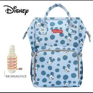 Mickey travel storage organizer diaper backpack